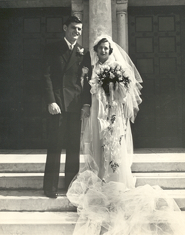 Ed & Gertrude Wedding